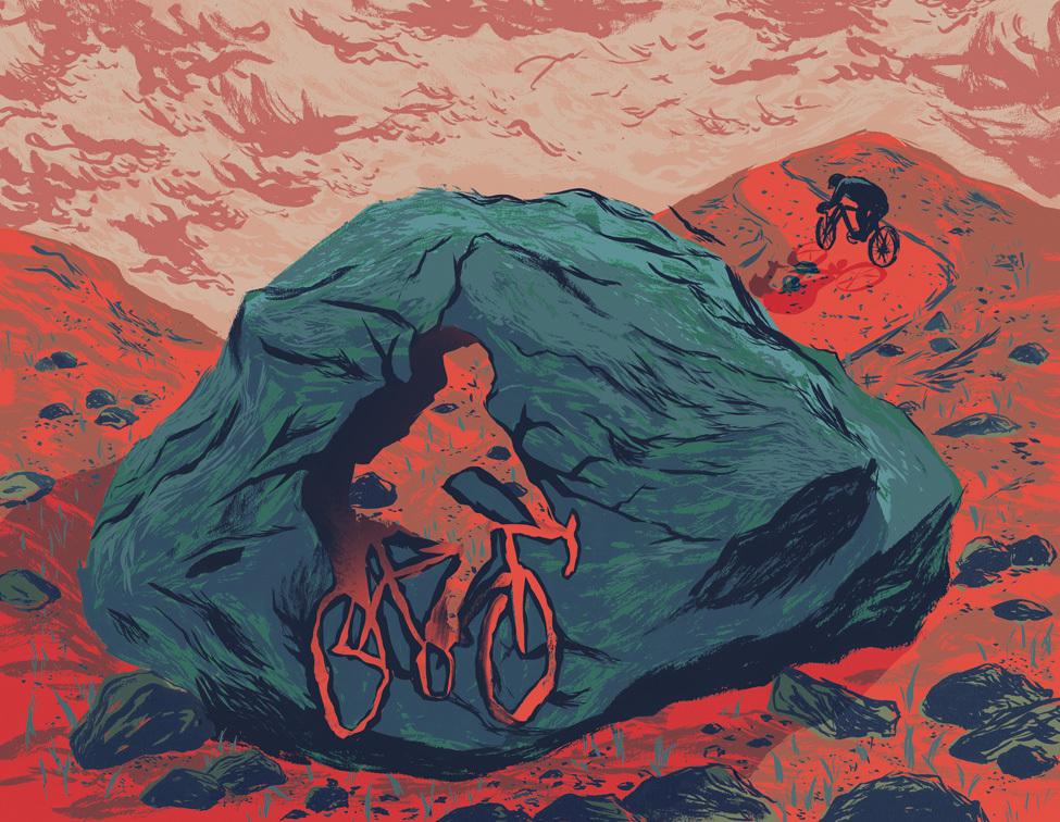 """""""Riding Through Anything"""" illustration by Juliana Wang (julianawang.com)"""